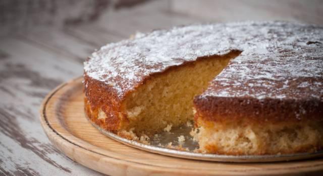 La torta pan di pesche è davvero semplice da fare!