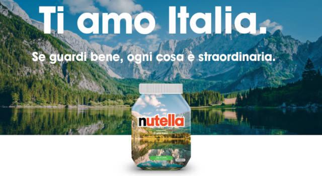 Nutella per il turismo: ecco i vasetti con gli scorci più belli d'Italia. Siete pronti a partire?