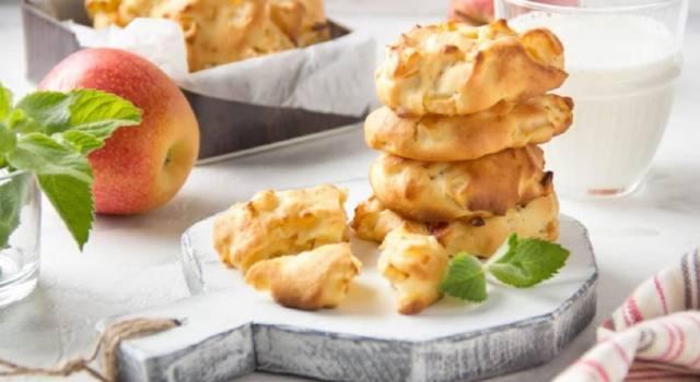 Biscotti alle mele morbidi: attenzione perché uno tira l'altro!