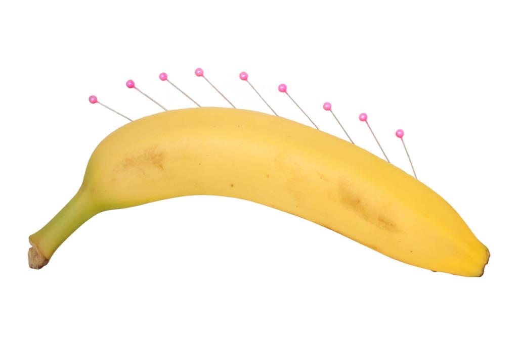 come tagliare una banana