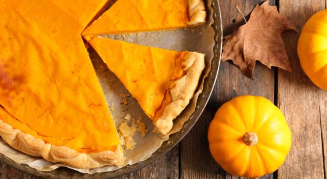 Portiamo in tavola l'autunno con la crostata di zucca!