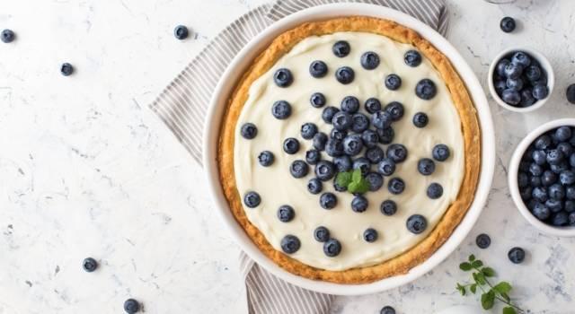 Avete mai assaggiato la crostata allo yogurt?