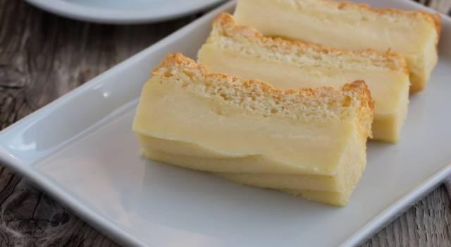 Custard cake… per rendere migliore ogni giornata!