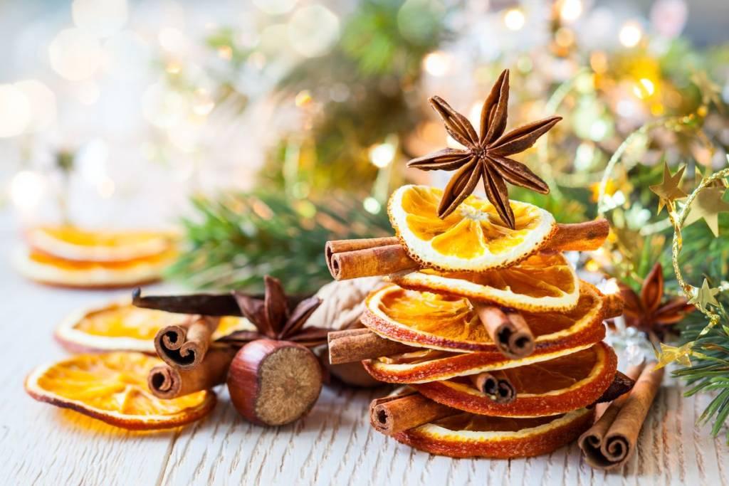 decorazioni arancia