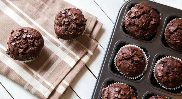 Muffin al cioccolato: i dolcetti più buoni che ci siano!