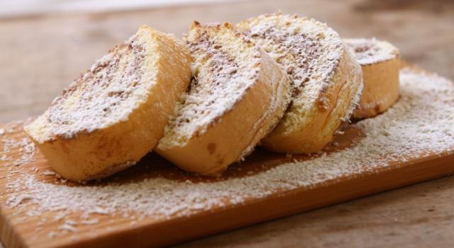 Girelle di pancarrè alla Nutella: il dolce più semplice che ci sia!