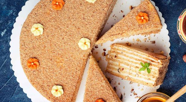 Torta con biscotti secchi: un dolce più facile e veloce non c'è!