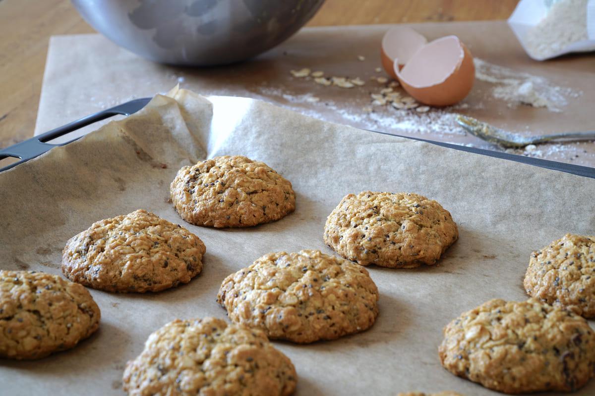 biscotti con semi di chia