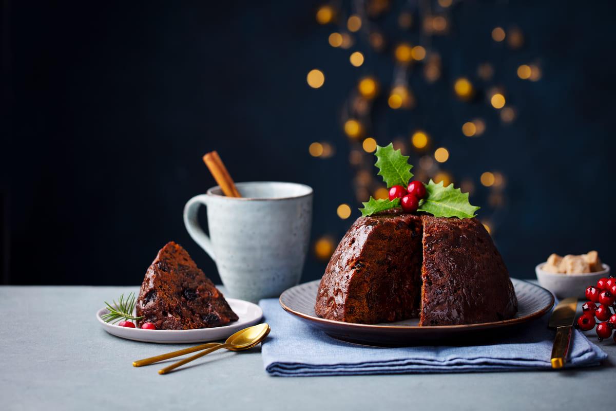 christmas pudding Regina Elisabetta II