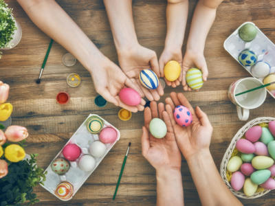 Uova colorate: come farle per Pasqua?
