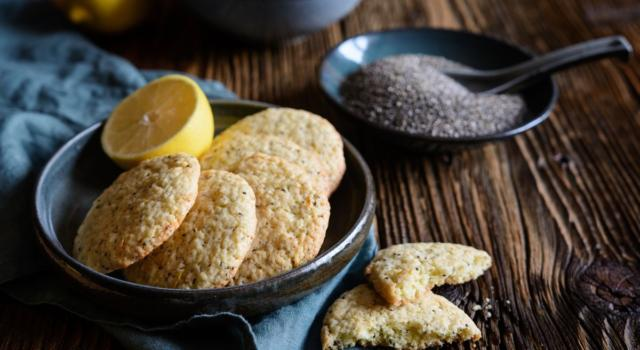 Fragranti, sfiziosi e perfetti in ogni momento… sono i biscotti con semi di chia!