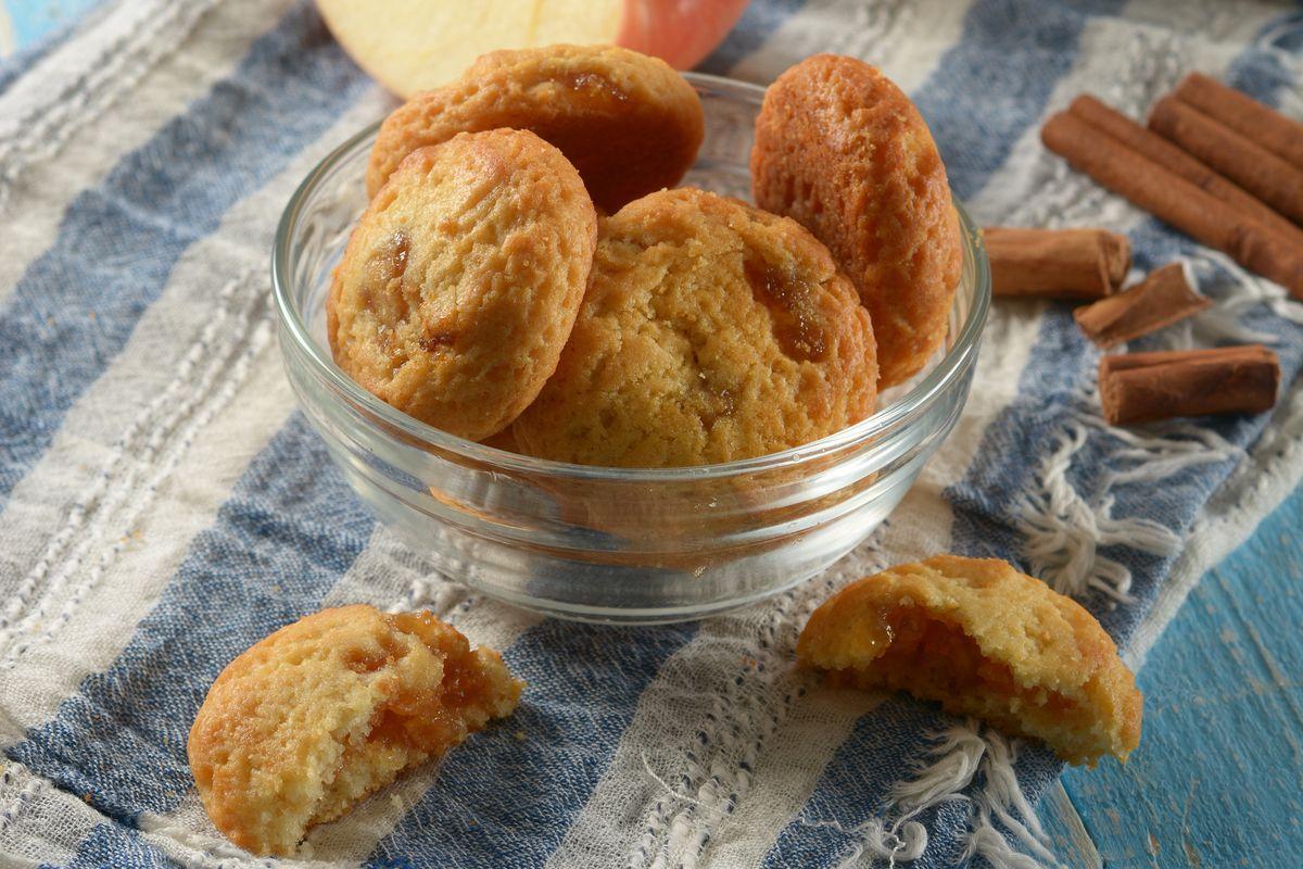 biscotti cuore di mela