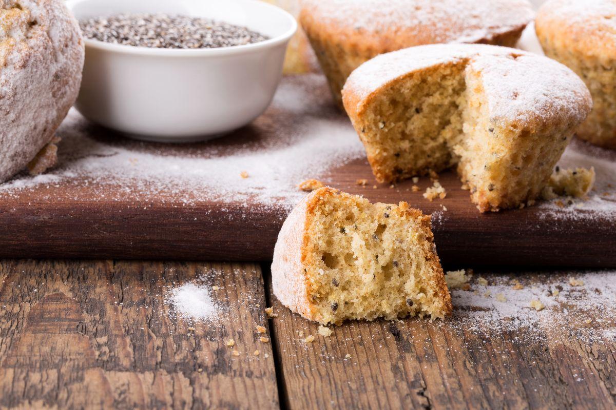 Muffin semi chia