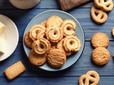 Quanto è facile preparare i biscotti al burro con il  Bimby?
