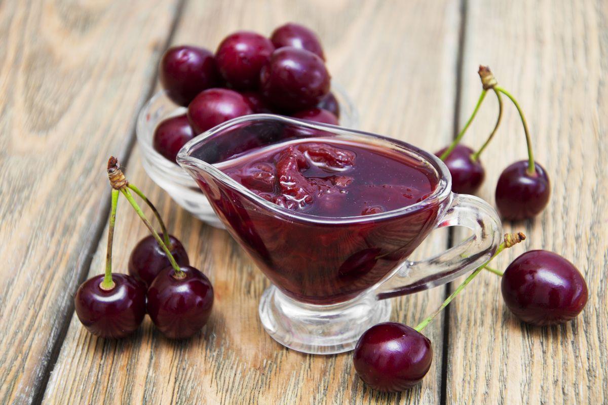Salsa di ciliegie