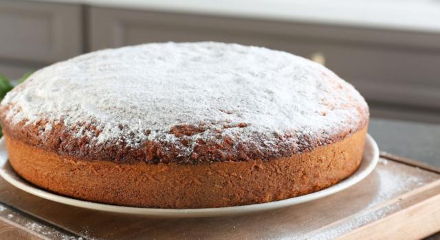 La torta senza burro è perfetta per la colazione