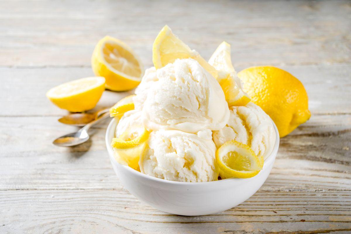Gelato al limone Bimby