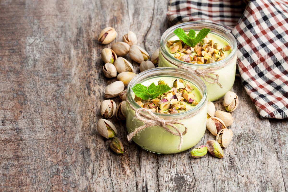 Mousse al pistacchio