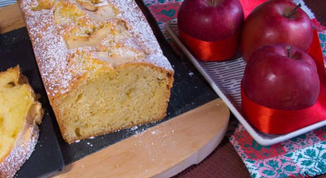 Stanchi della solita torta? Provate il plumcake alle mele