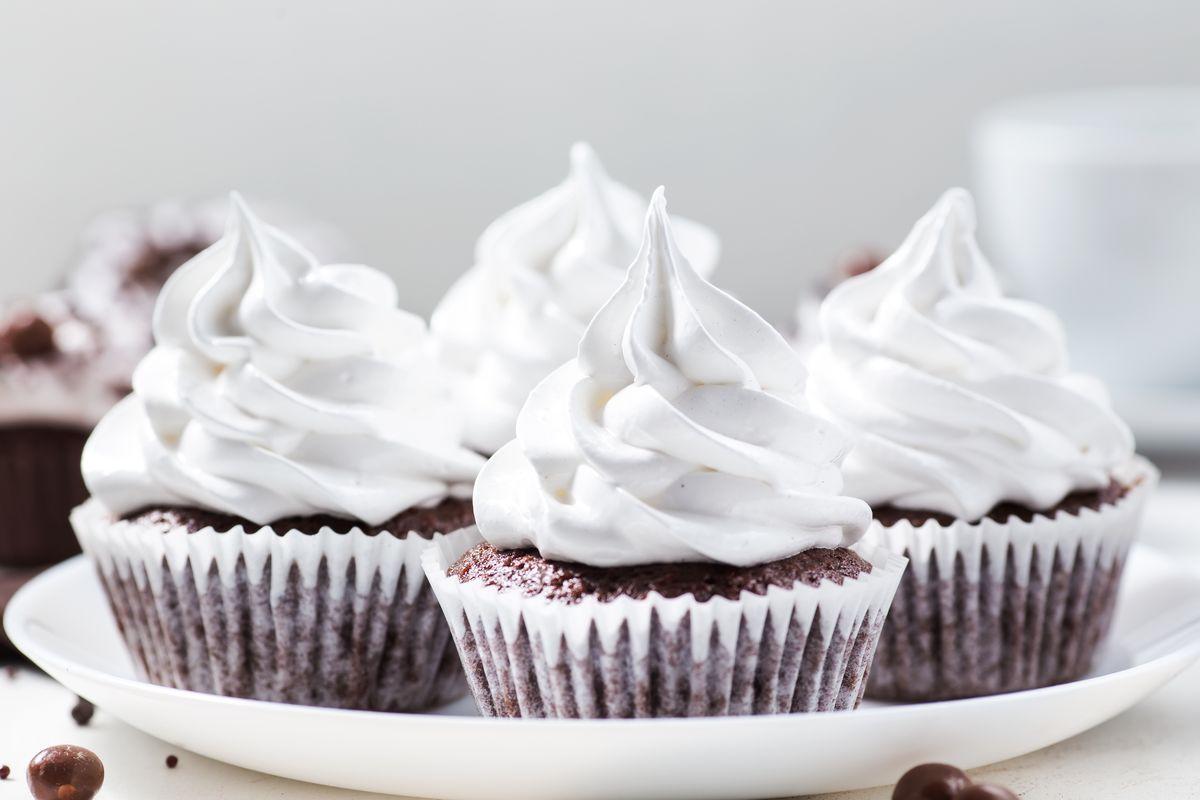 Cupcake con crema al burro