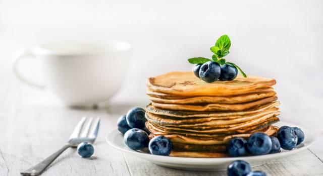 La veloce ricetta dei pancake senza lievito per una golosa colazione
