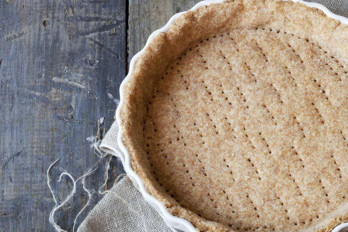 Pasta sfoglia integrale senza burro