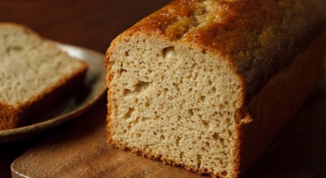 Per non rinunciare a un buon dolce, ecco la ricetta del plumcake vegan
