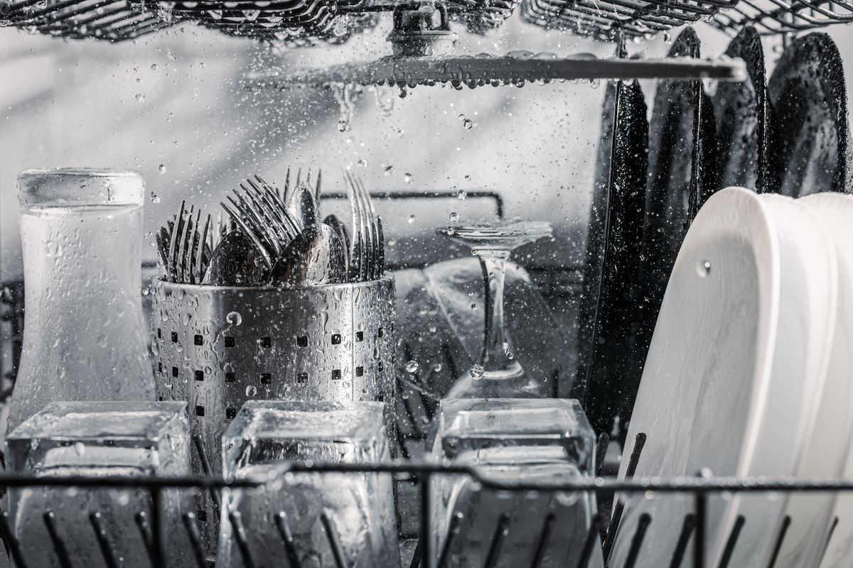 Oggetti da lavare in lavastoviglie