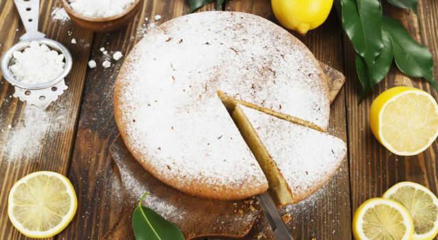 Torta al limone senza uova e senza burro: la ricetta super light!