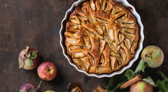 La ricetta per una torta di mele senza lievito è ugualmente morbidissima