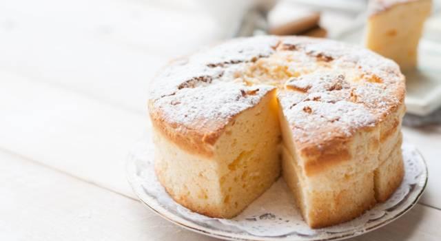 Un altro dolce super leggero: la torta senza latte e burro!