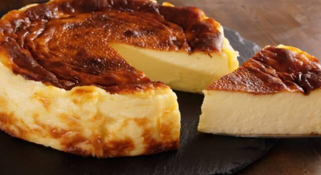 Cheesecake basca bruciata: uno dei migliori trend di pasticceria!