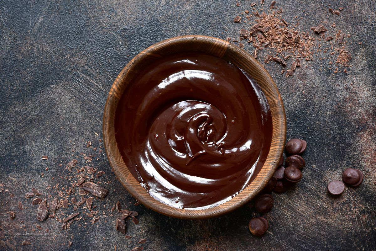 Ganache al cioccolato Bimby