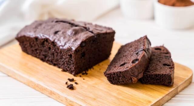 C'è sempre tempo per una torta al cioccolato fatta in 5 minuti