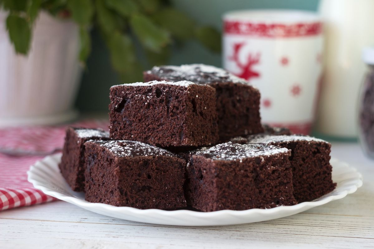 Torta al cioccolato 5 minuti