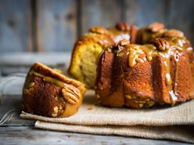 Con zucca, noci e miele prepariamo una perfetta torta d'autunno