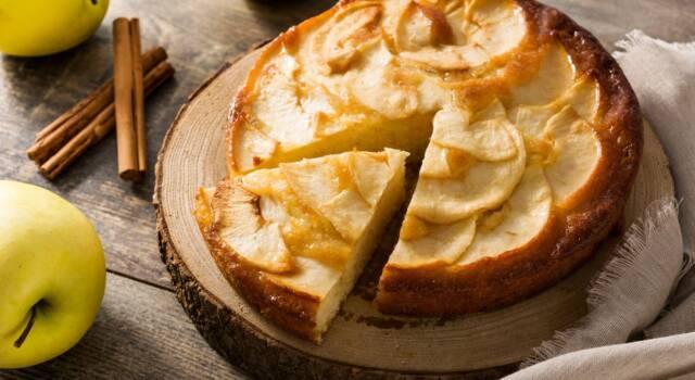 Torta di mele e ricotta: la versione più soffice del classico dolce