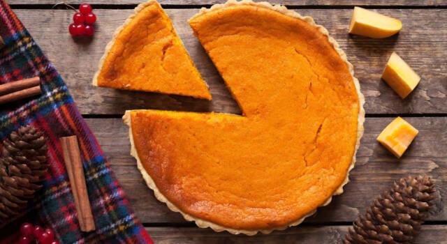 Deliziatevi con la cremosità della cheesecake alla zucca!