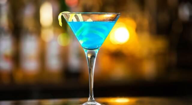 Il cocktail blu (italiano) per eccellenza, ecco come fare l'Angelo Azzurro