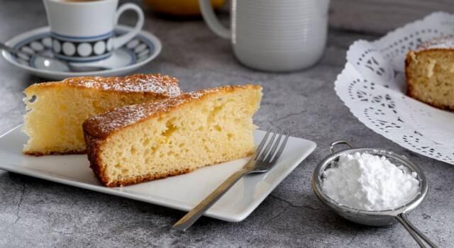 La morbidezza della torta alla panna nasconde un dolce segreto!
