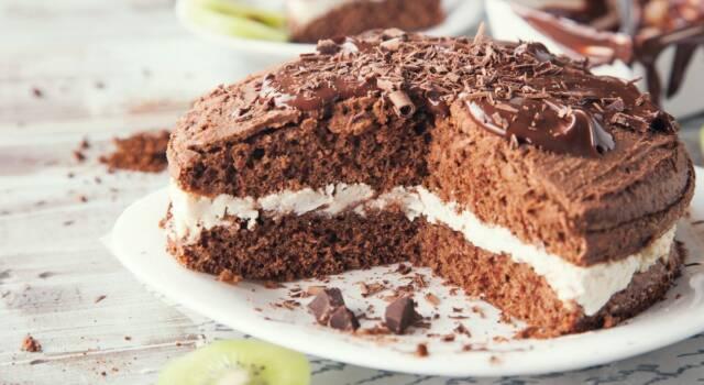 Torta panna e Nutella, semplice ma golosissima!