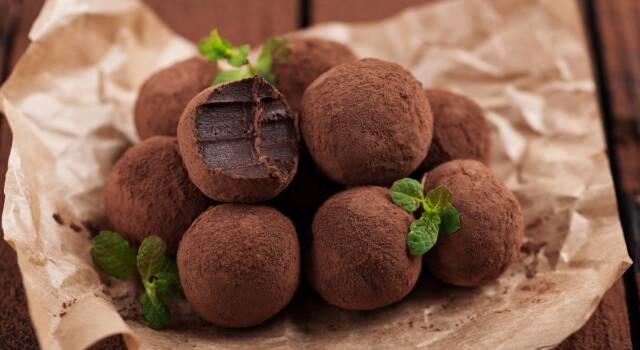 Palline alla Nutella: i tartufini morbidi fuori e deliziosi dentro