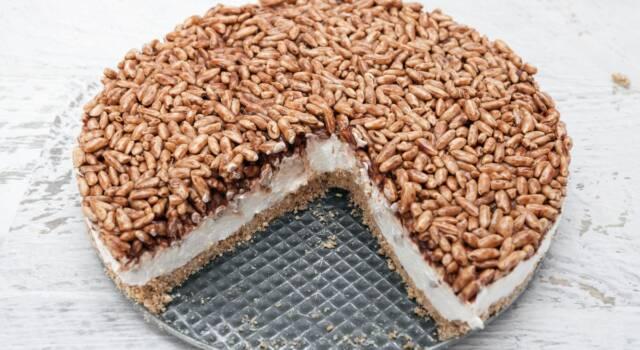 Fresca e leggera, la torta Kinder Cereali conquista proprio tutti