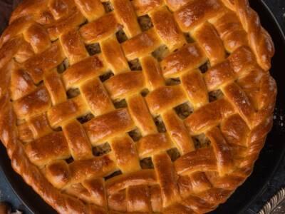 La torta delizia alle mandorle è uno scrigno di bontà